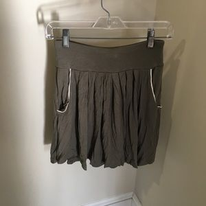 BANANA REPUBLIC Olive Green Skirt Small